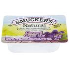 Smucker's Natural Concord Grape Jam .5 oz. Portion Cup   - 200/Case