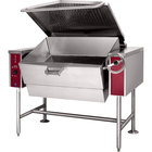 Blodgett BLT-40G 40 Gallon Manual Tilt Gas Braising Pan / Tilt Skillet - 100,000 BTU