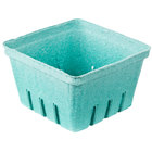 1 Qt. Green Molded Pulp Berry / Produce Basket   - 250/Case