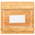 Cal-Mil 3483-23-99 Madera 3 1/2 inch x 2 inch Reclaimed Wood Displayette