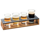 Cal-Mil Beer Sampler Glasses and Beer Paddles