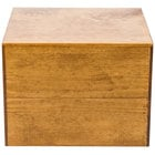 Cal-Mil 432-9-99 Madera Rustic Pine Square Riser - 12 inch x 12 inch x 9 inch
