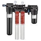 Everpure EV9761-32 High Flow CSR Twin-XCLM+ Water Filtration System with Pre-Filter and Scale Reduction - 5 Micron and 4/3.34/2 GPM