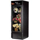True GDM-23FC-LD Black Glass Door Floral Case