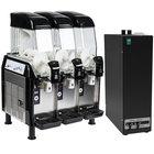 Vollrath Stoelting CBE167-37 Triple 3.2 Gallon Bowl Frozen Beverage Dispenser with 600086 Autofill Kit