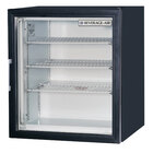 Beverage-Air CF3-1-B Black Countertop Display Freezer with Swing Door - 3 cu. ft.