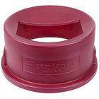 San Jamar KA2000 KatchAll Flatware Retriever for 20 Gallon Huskee Trash Cans - Red