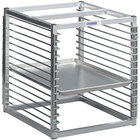 Channel RIW-13S 13 Pan Stainless Steel End Load 25 inch x 20 1/2 inch x 23 inch Sheet / Bun Pan Rack for Reach-Ins - Assembled