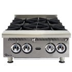 Star 804HA Ultra Max 4 Burner Countertop Range / Hot Plate 120,000 BTU - 24