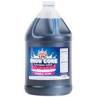 Carnival King 1 Gallon Bubble Gum Snow Cone Syrup - 4/Case