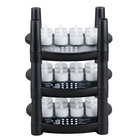 Sterno Products 60220 36 Piece Warm White Rechargeable Flameless Tea Light Set with 3 EasyStack Charging Bases and 1 Power Adapter