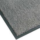 Teknor Apex NoTrax T37 Atlantic Olefin 434-330 4' x 60' Gunmetal Roll Carpet Entrance Floor Mat - 3/8 inch Thick