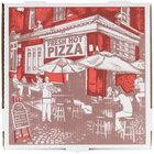 16 inch x 16 inch x 1 3/4 inch White Corrugated Pizza Box - 50 / Case