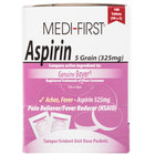 Medi-First 80533 Aspirin Tablets - 100/Box