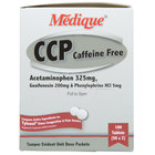 Medique 10533 CCP Caffeine Free Headache and Sinus Congestion Tablets   - 100/Box
