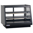 Federal Industries ERR-3628SS Elements 36 inch Refrigerated Countertop Display Cabinet with Front Access - 9.25 Cu. Ft.