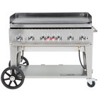Crown Verity MG-48 Natural Gas 48 inch Portable Outdoor Griddle