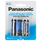 Panasonic Size C Super Heavy Duty Battery   - 2/Pack