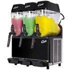 Curtis CFB3 Triple 3 Gallon Pourover Slushy/Granita Frozen Beverage Dispenser