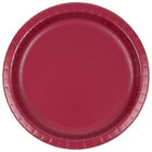 Creative Converting 503122B 10 inch Burgundy Paper Plate - 24/Pack