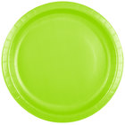 Creative Converting 503123B 10 inch Fresh Lime Green Paper Plate - 24/Pack