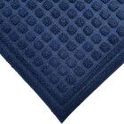 Cactus Mat 1508M-U46 Enviro-Tuff 4' x 6' Indigo Blue Carpet Mat - 3/8 inch Thick