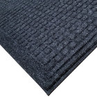 Cactus Mat 1508M-L35 Enviro-Tuff 3' x 5' Onyx Black Carpet Mat - 3/8