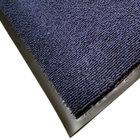 Cactus Mat 1469R-U4 4' x 60' Blue Foyer Scraper Mat Roll - 3/8 inch Thick