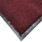 Cactus Mat 1471M-T34 3' x 4' Burgundy Olefin Carpet Entrance Floor Mat - 3/8 inch Thick