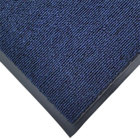 Cactus Mat 1471M-U35 3' x 5' Blue Olefin Carpet Entrance Floor Mat - 3/8 inch Thick