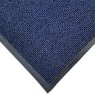 Cactus Mat 1471M-U46 4' x 6' Blue Olefin Carpet Entrance Floor Mat - 3/8 inch Thick