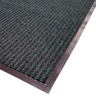 Cactus Mat 1485M-G31 3' x 10' Green Needle Rib Carpet Mat - 3/8 inch Thick