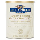 Ghirardelli 3.12 lb. Sweet Ground White Chocolate Flavored Powder