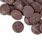Ghirardelli 25 lb. Queen Dark Chocolate Wafers