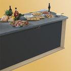 Hatco GRSBF-24-S Glo-Ray 25 1/2 inch x 25 1/2 inch Built In Heated Shelf Warmer with Flush Top - 700W