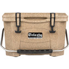 Grizzly Cooler 20 Qt. Sandstone Extreme Outdoor Merchandiser / Cooler