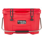 Grizzly Cooler 20 Qt. Red Extreme Outdoor Merchandiser / Cooler