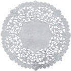 6 inch Silver Foil Lace Doily - 1000/Case