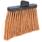 Carlisle 3686825 Duo-Sweep 12 inch Heavy Duty Angled Broom Head with Tan Unflagged Bristles