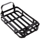 American Metalcraft BWC9 Black Rectangular Condiment Caddy - 9