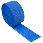 Creative Converting 073147 81' Cobalt Blue Streamer Paper - 12/Case