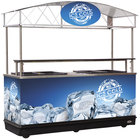 MFC-K89 Package 89 inch Ice Down Mobile Cart with Canopy