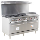 Cooking Performance Group S60-G24-N Natural Gas 6 Burner 60