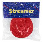 Creative Converting 0761031 500' Classic Red Streamer Paper - 12/Case