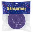 Creative Converting 076130 500' Purple Streamer Paper - 12 / Case