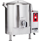 Vulcan ET125-208/3 125 Gallon Stationary Steam Jacketed Electric Kettle - 208V, 3 Phase, 36 kW
