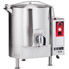 Vulcan GT100E-LP Liquid Propane 100 Gallon Stationary Steam Jacketed Gas Kettle - 135,000 BTU