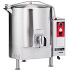 Vulcan EL80-208/3 80 Gallon Stationary Steam Jacketed Electric Kettle - 208V, 3 Phase, 36 kW
