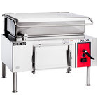 Vulcan VG40-NAT Natural Gas 40 Gallon Manual Tilt Braising Pan / Tilt Skillet - 120,000 BTU