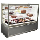 Federal Industries ITR6034-B18 Italian Series 60 inch Floor Model Refrigerated Bakery Display Case - 26 cu. ft.